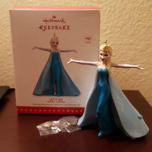 Hallmark Keepsake Ornament Disney Elsa Let It Go